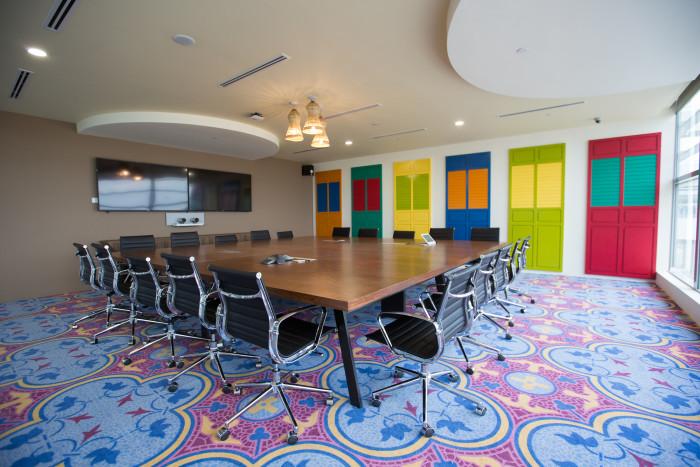 Jim Ratteree meeting room