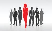 Business men and women, hr