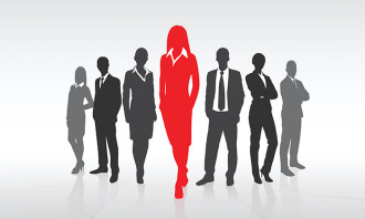 Business men and women, hr