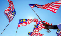Malaysia flags against the sky