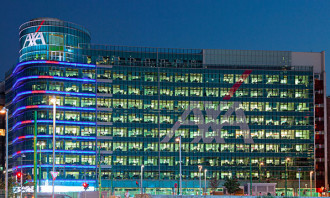 AXA building in Italy, hr