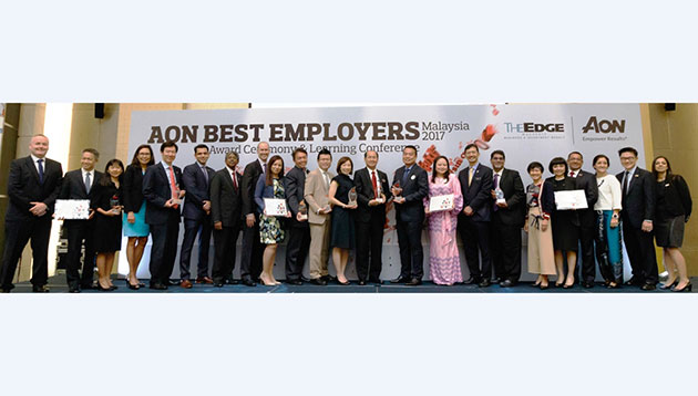 Aon best employers award
