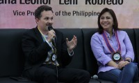 UNFPA Country Representative Klaus Beck and Vice President Leni Robredo