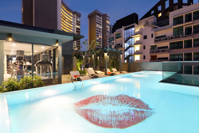 Oakwood Studios Singapore - Pool (Artistic)