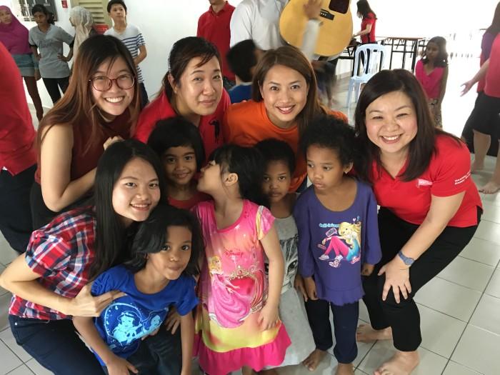 Pfizer Malaysia & Underprivileged Children