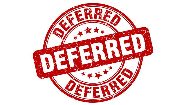 EIS bill deferred