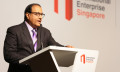 Minister Iswaran at the launch of GRIT