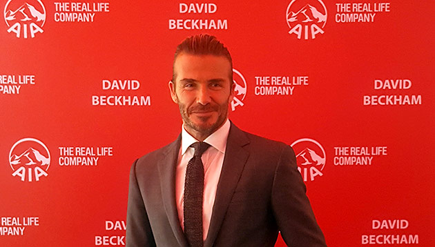 David Beckham - AIA Vitality