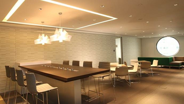 BASF regional office Hong Kong, open plan