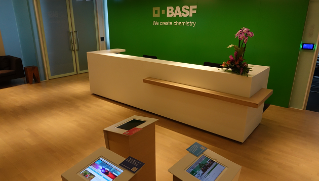 BASF regional office Hong Kong, reception