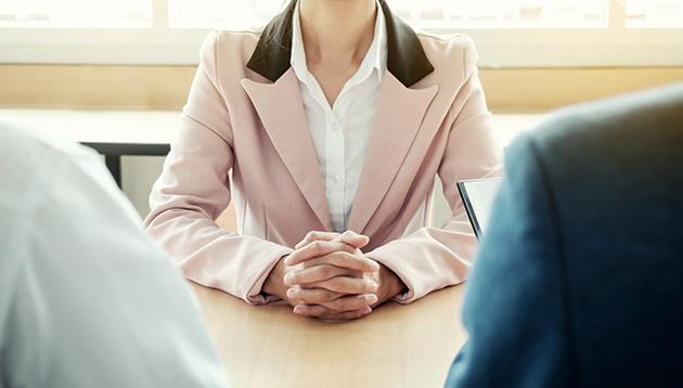 Job interview, hr