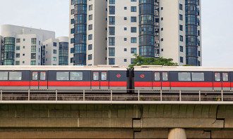 SMRT train in Singapore