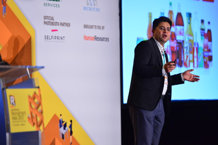 Gaurav Sharma, the HR director for Coca-Cola's Singapore and Malaysia bottling operations