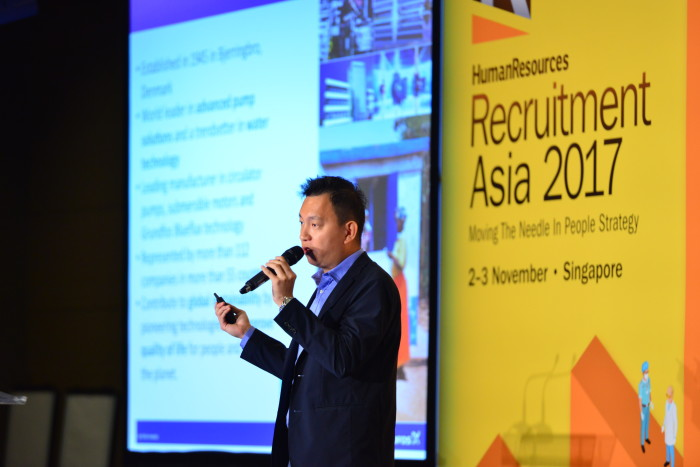 Gary Lee, chief HR specialist for global talent development at Grundfos,