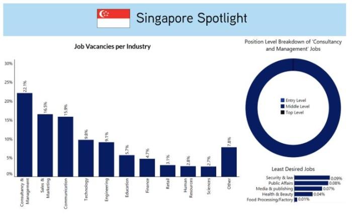 ExpatFinder SG job market
