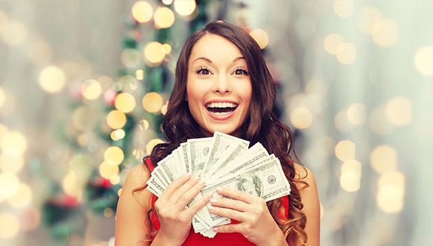 holiday bonus - 123RF