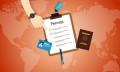 work and travel permits - 123RF