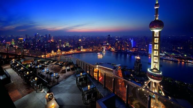 Flair Bar, The Ritz-Carlton, Shanghai