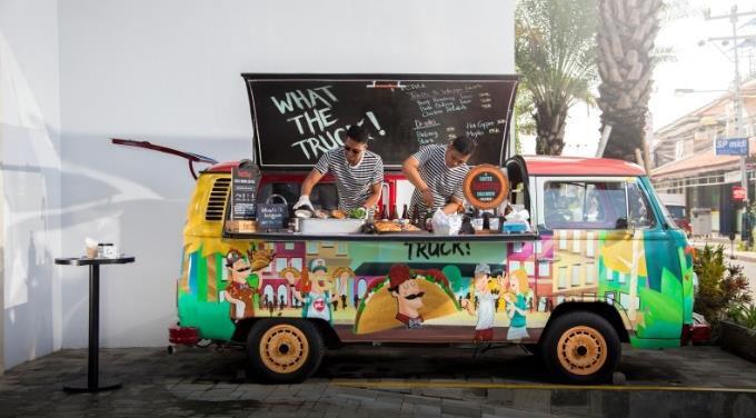 What the Truck, Courtyard, Bali Seminyak