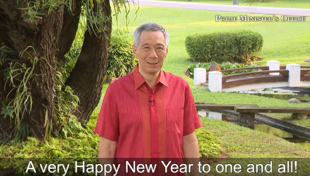 Singapore PM Lee New Year Message