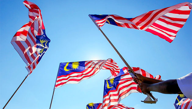 Pm najib launches malaysias human capital development blueprint malaysia flag waving malvernweather Choice Image