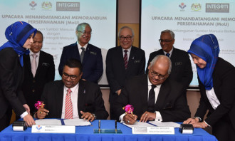 HRDF MoU with INTEGRITI