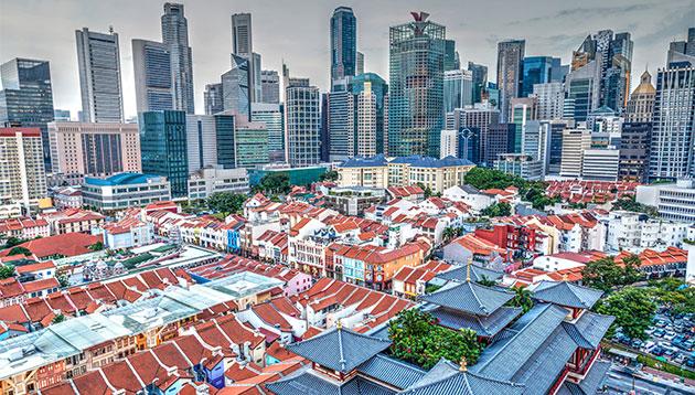 Singapore CBD - 123RF