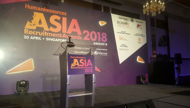 Live: Asia Recruitment Awards 2018, Singapore | Human Resources Online