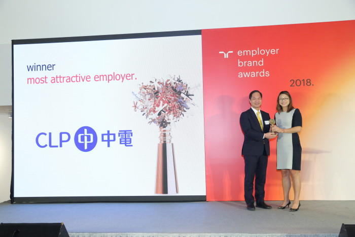 Randstad Hong Kong [L-R] Mr T. K. Chiang, Managing Director – CLP Power; Natellie Sun, Managing Director - Randstad Hong Kong