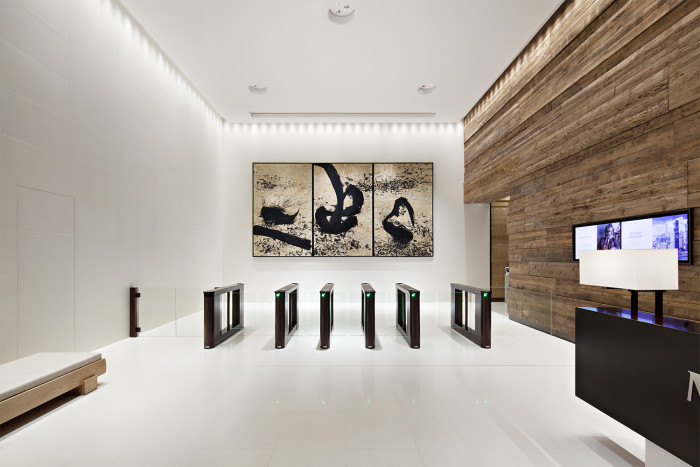 R13 Victoria Dockside K11 Atelier Lobby and Art Piece by Qin Feng