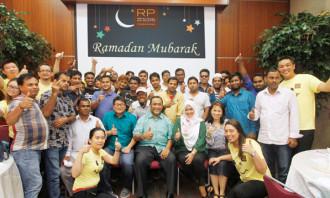 RP celebration for iftar