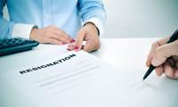 Resignation exit process