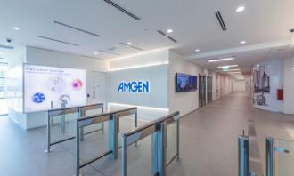 Amgen NextGen Workplace Interior Lobby Perspective_1