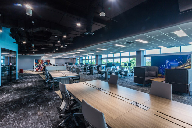 Amgen NextGen Workplace Interior Workspaces Perspective_1