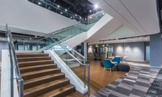Amgen NextGen Workplace Stairway Perspective_1